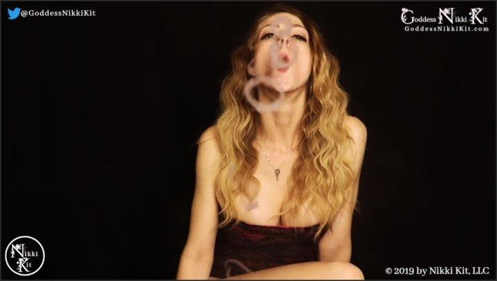 [HD] Stroking For My Smoke And Red Lips Joi Femdom Goddess Nikki Kit - Goddess Nikki Kit - - 00:13:00 | Babe, Big Tits - 92,5 MB