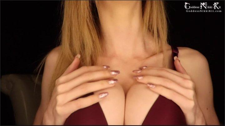 [Full HD] The Bigger The Tits The Dumber You Get Femdom Goddess Nikki Kit - Goddess Nikki Kit - - 00:10:39 | Tit Worship, Solo Female - 228,9 MB