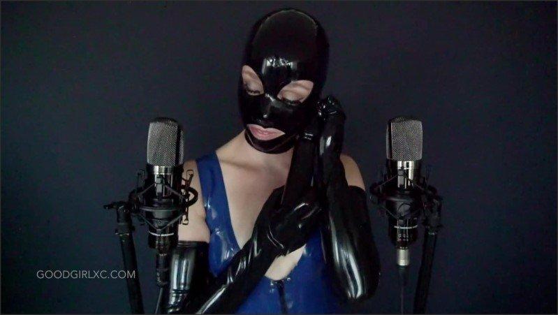 [Full HD] Latex Hood And Gloves Rubber Asmr Joi - GoodGirlxc - -00:07:04 | Exclusive, Erotic Asmr, Asmr Joi - 190,3 MB