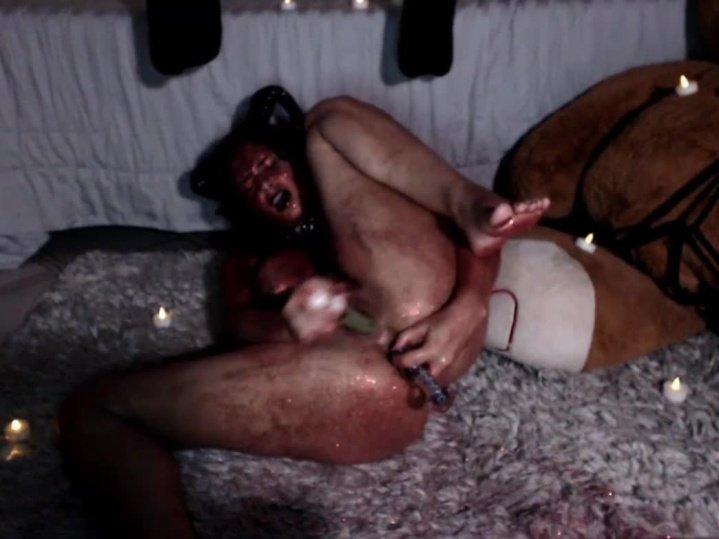 Gweenblack Devill Glitter Masturbation Online Show