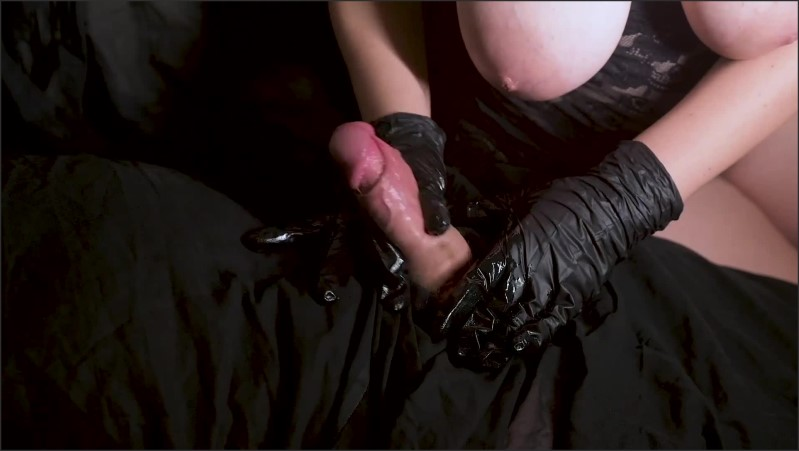 [Full HD] Slide Slowly Oily Black Latex Gloved Good Handjob Slow Motion Cum Hand Star  - Hand_Star - -00:06:52 | Slow Motion Close Up, Oily Massage, Slow Edging Blowjobs - 189,9 MB