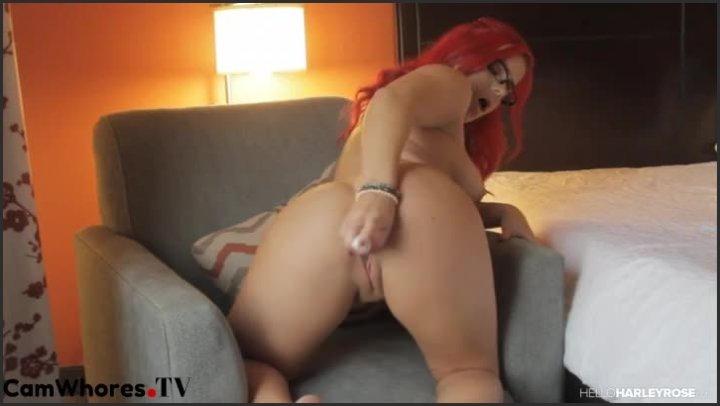 Masturbating On Chair