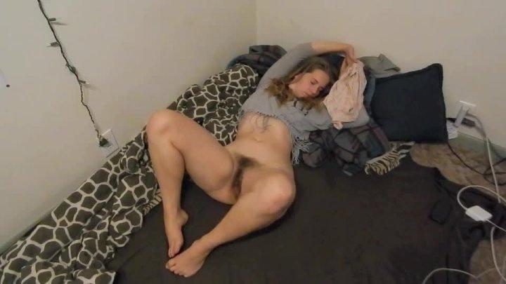 Harper The Fox Bedtime Orgasm W Vibrating Rabbit Dildo