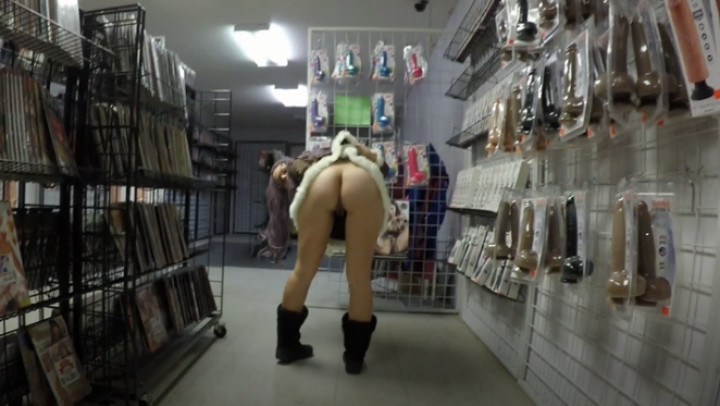 Hope Penetration Porn Shop Busted Black Cock Squirt Pussy