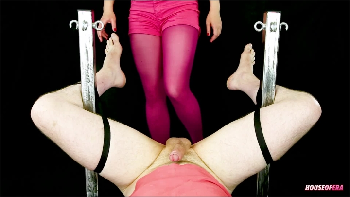 [Full HD] Ballbusting Handjob And Footjob For You Nylon Bondage Pov Cbt Era - House Of Era - - 00:11:48 | Pantyhose, Ball Busting, Femdom - 199,1 MB