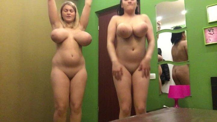 Hugeboobserin Sister Helen And I Are Dancing