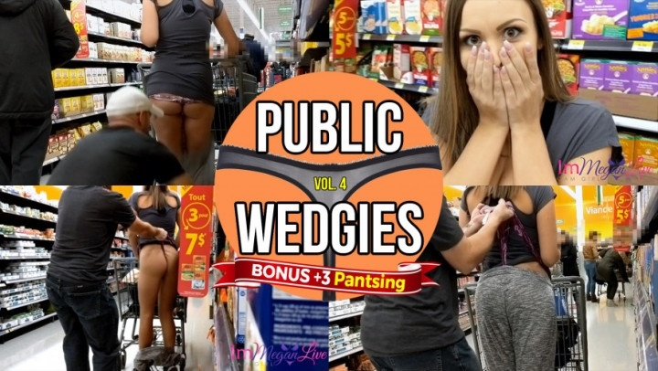 Immeganlive Public Wedgies Vol 4