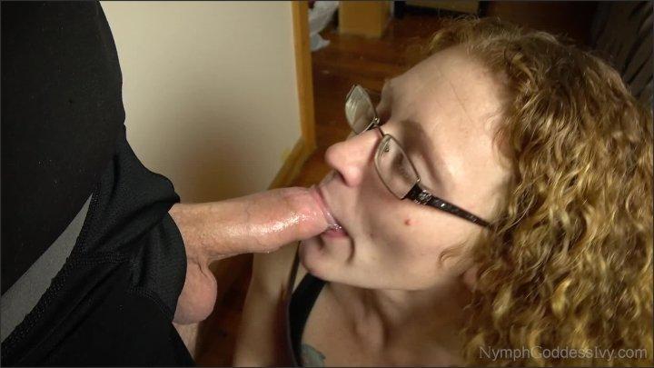 [Full HD] Redhead Milf Ivy Learning To Deep Throat Hubby S Cock - Ivy McNea - - 00:09:26 | Blue Eyes, Deepthroat - 288 MB