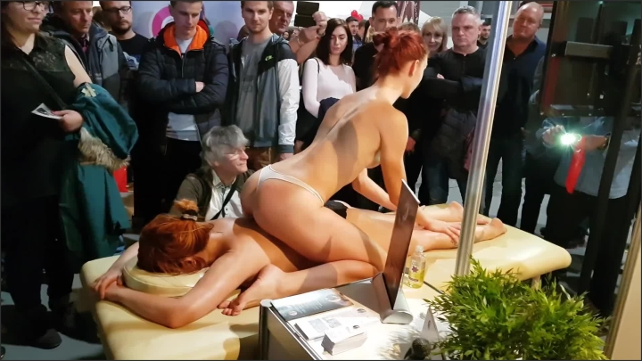 [Full HD] Public Massage At Prague Erotic Festival - Ivy Steel - - 00:07:03 | 60Fps, Redhead, Outside - 240,1 MB