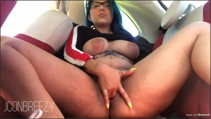 Squirting All Over My Back Seat In Public