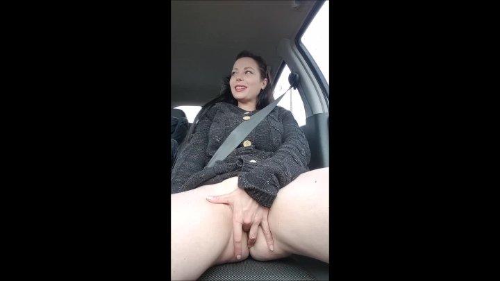 Jade Styles Jade Fingering In The Car
