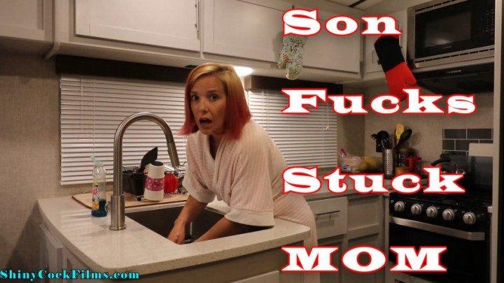 Jane Cane Son Fucks Stuck Mom