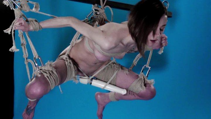 [Full HD] Jasper Blue Suspended Hitachi Cum  - Jasper Blue - ManyVids - 00:02:42 | Rope Bondage, Bondage Rope - 262,9 MB