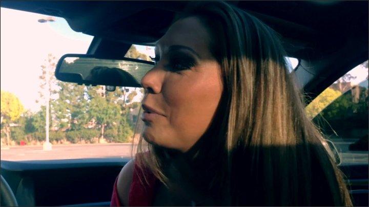 Car Blowjob Facial