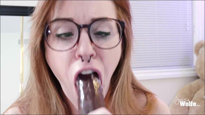 [WQHD] Jessie Wolfe Sloppy Ahegao Bj Nerdy Girl Spit On Tits  - Jessie Wolfe -  - 00:06:01 | Petite, Teen, Red Head - 197 MB