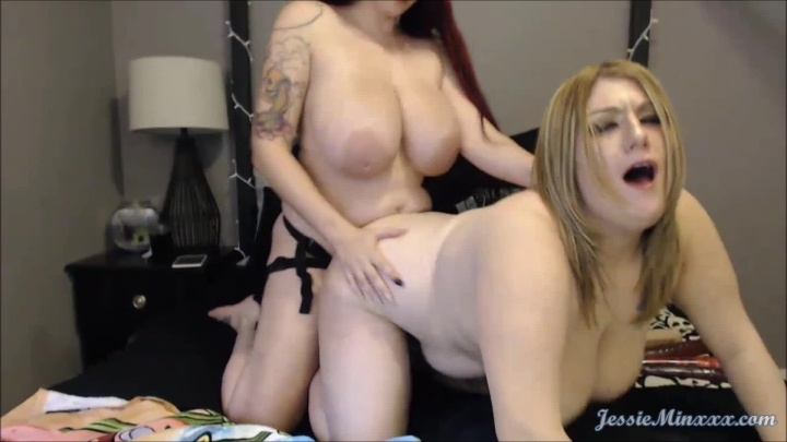 Jessieminx Live Cam Ft Ashely Part 7