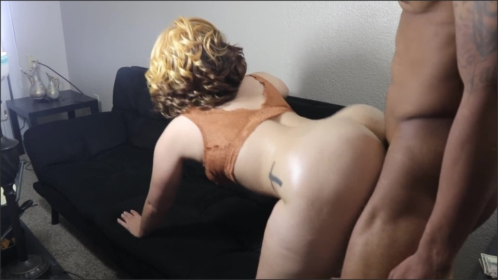 Juicyj1995 Big Booty Curly Hair Blonde Gets Her Bubble Butt Smashed Amp Pussy Filled