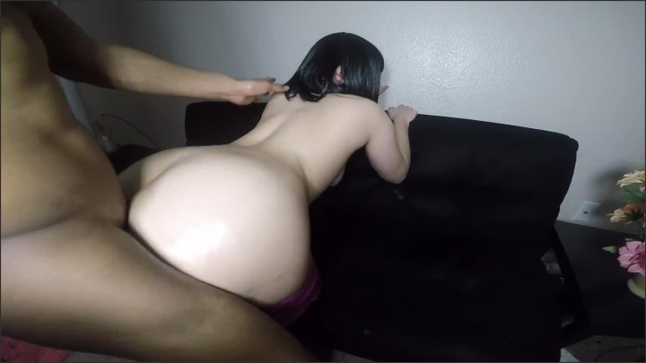 Juicyj1995 Big Booty Teen Gets Her Leggings Pulled Down To Take Hard Black Cock