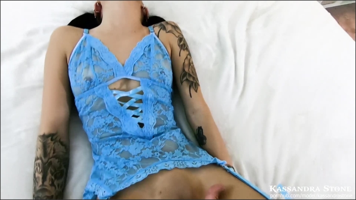 Kassandra Stone Hot Tinder Girl W Tattoos Fucks On Camera For First Time