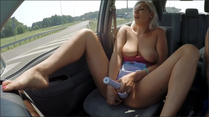 [Full HD] Public Car Masturbation And Squirting Orgasm On Crowded Highway - KateTruu - - 00:12:01 | Amateur, Upskirt No Panties - 361,4 MB