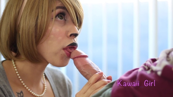 Mouth Dripping Oral Creampie