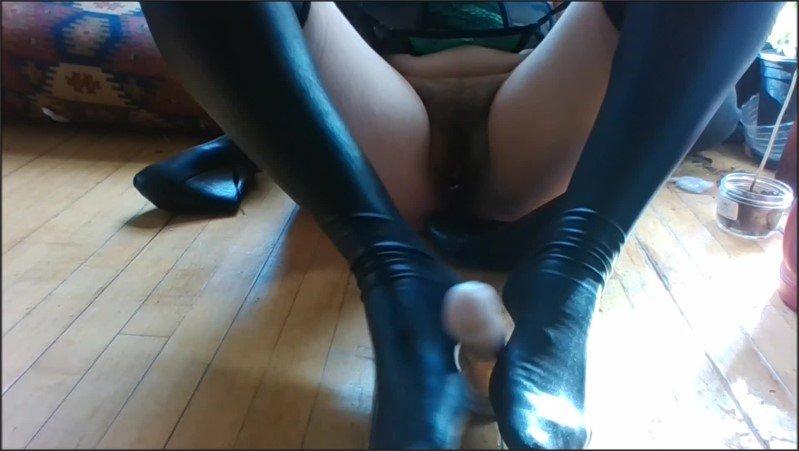 [Full HD] Gettin Lucky Foot Job Dirty Talking Joi Count Down In Latex Thigh Highs - Kayla Knoxxx - -00:09:10 | Footjob, Feet Joi, Pov - 379,4 MB