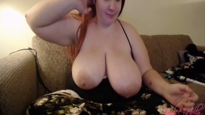 Kaylee Holly Titties Out Smoking