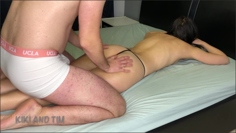 [Full HD] Sensual Massage Teen Takes Dick Into Her Hairy Pussy Kiki And Tim  - Kiki And Tim - -00:07:59 | Thong, Massage Sex - 157,6 MB