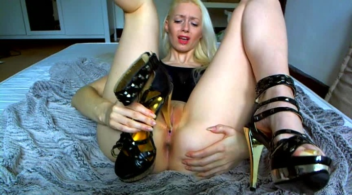 Kimber Benton Fucking My Stripper Heel