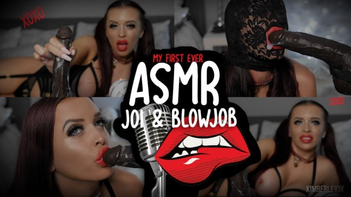 Kimberleyjx Asmr Joi And Sloppy Blow Job