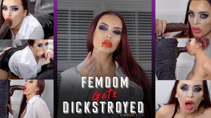 Kimberleyjx Femdom Gets Dickstroyed