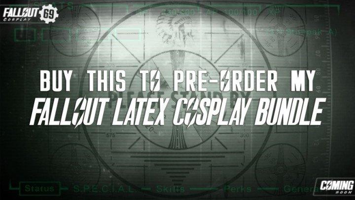 Kimberleyjx Pre Order My Latex Fallout Parody Bundle