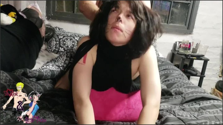 [HD] Sexy Neko Chick Gets A Hard Fucking On A Liberator Shape With A Cream Pie - KinkandNeko - - 00:09:42 | Choked While Fucked, Doggie Style, Tattooed Teen - 151 MB