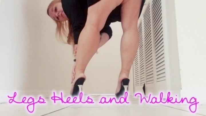 Kittencandy Legs Heels And Walking