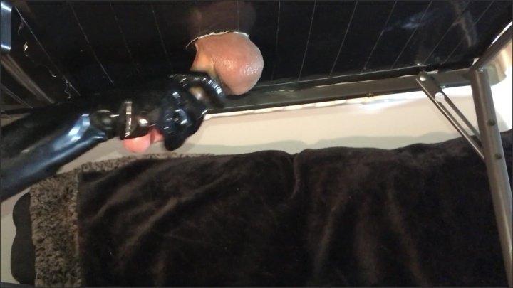 [WQHD] Cock Milking Table With Latex Gloves - KittyBeGood - - 00:06:47   Ball Draining, Femdom Milking, Dominatrix - 246 MB