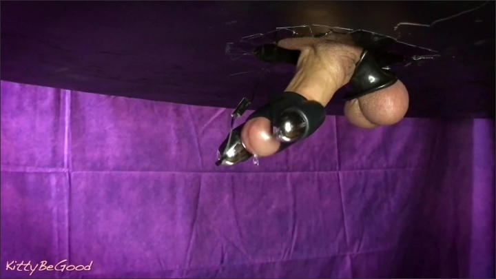 [WQHD] Hands Free Dick Vibrator Edging Precum Dripping Big Cumshot - KittyBeGood - - 00:10:12 | Exclusive, Cbt, Ball Stretching - 194,3 MB