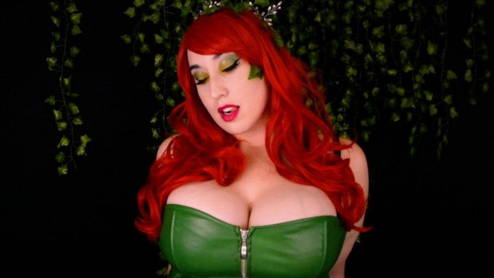 Kitty Leroux Poison Ivy Wraps Around Dc Cosplay