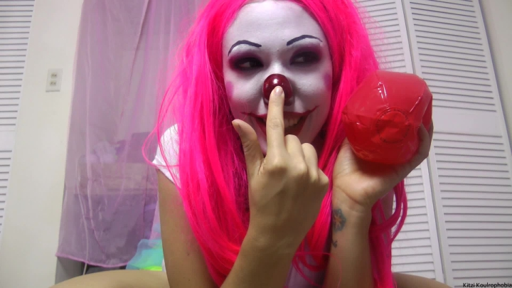 Kitzi Klown Bouncy Ball Inflation