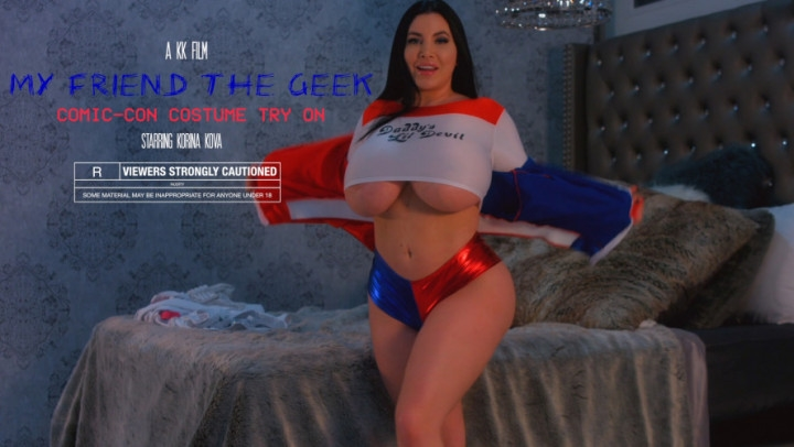 [Full HD] Korina Kova My Friend The Geek Comic Con Try On - Korina Kova - ManyVids - 00:17:51 | Big Boobs, Cosplay, Facials - 1,6 GB