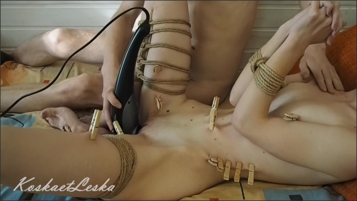 [Full HD] Homemade Small Tits Amateur Teen Tied Up Vibrated And Wants His Dick To Cum - KoskaetLeska - - 00:19:26 | Verified Amateurs, Tied Up Teen, Verified Couples - 282,2 MB
