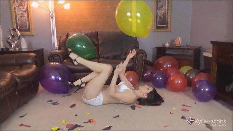 [Full HD] Sexy Crystal Balloon Pop - Kylie Jacobs - -00:17:47 | Balloon Pop, Balloons - 1,1 GB