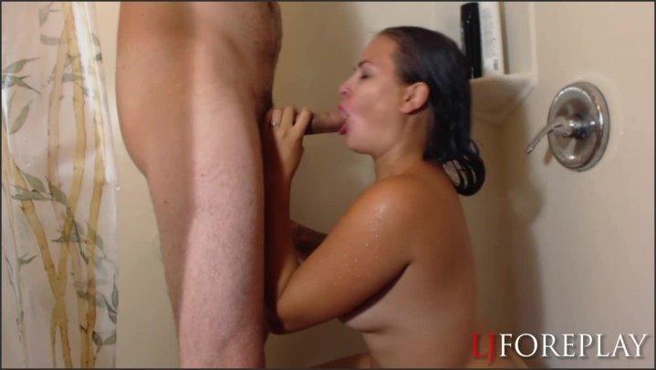 [HD] Ljforeplay Sloppy Shower Blowjob - Ljforeplay -  - 00:10:04 | Big Ass, Oral - 90,8 MB