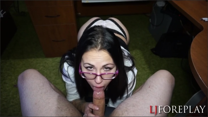[Full HD] Ljforeplay Sucking Off The Boss To Keep Her Job - Ljforeplay -  - 00:18:06   Role Play, Babe - 291,5 MB