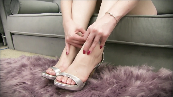 [Full HD] Worship Lacie Laplantes Feet In Open Toe High Heel Sandals - Lacie LaPlante - - 00:07:21 | High Heel Sandals, Brunette, Foot Worship - 219,5 MB