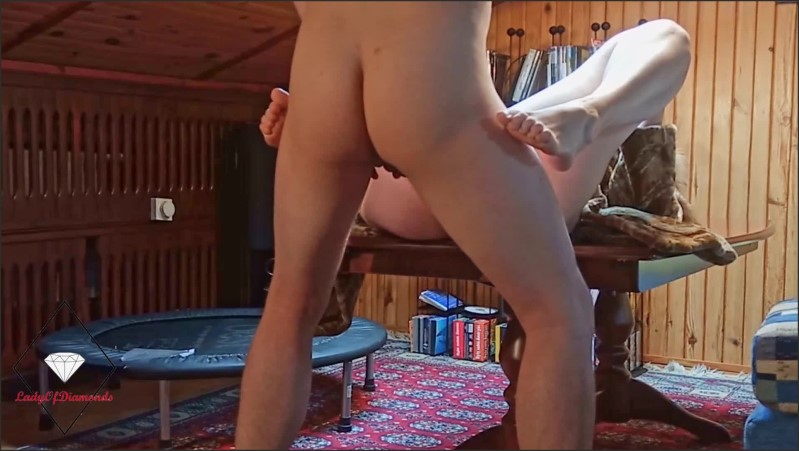 [Full HD] Milf In Fur Gets Anal Creampie On A Living Room Table After Pussy Licking  - LadyOfDiamonds - -00:23:46 | Point Of View, Ass Fuck - 444,9 MB
