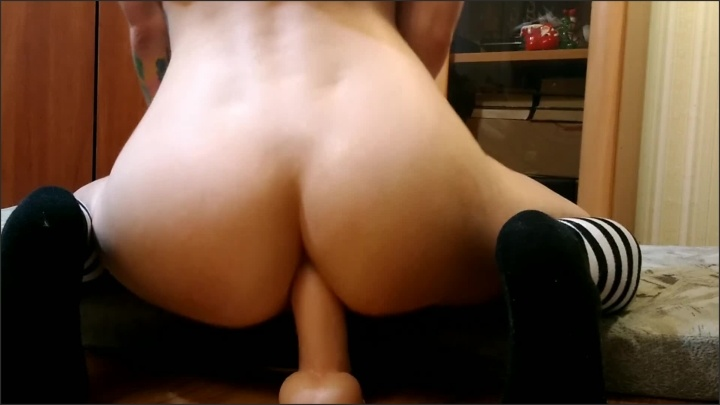 [Full HD] First Time Anal Dildo Riding And Beautiful Squirt Orgasm - Laruna_Mave - - 00:07:28   Solo Girl, Toys, Small Teen Anal - 122 MB