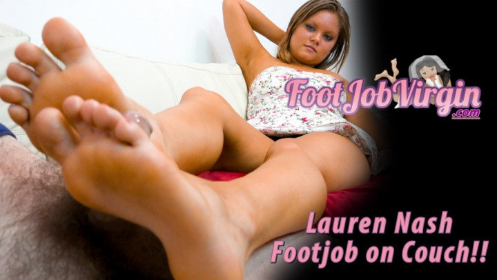 [Full HD] Lauren Nash My Tan Lil Size 5 Feet Give A Footjob - Lauren Nash - ManyVids - 00:11:10 | Cumshots, Precum, Tan Bodies - 1 GB