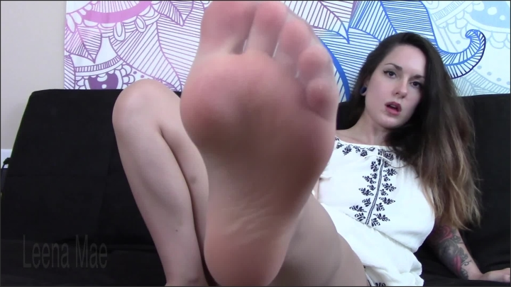 [Full HD] Teasing And Denying You In Pantyhose - Leena Mae - - 00:09:25 | Femdom, Foot Fetish - 506,5 MB