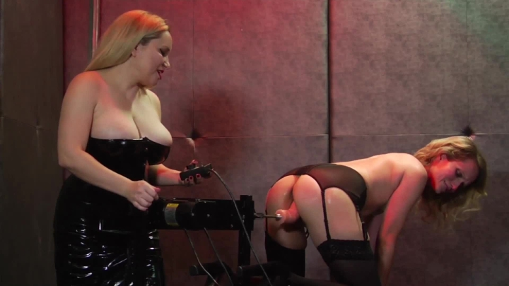 Lena Starr My First Fuck Machine With Aiden Starr
