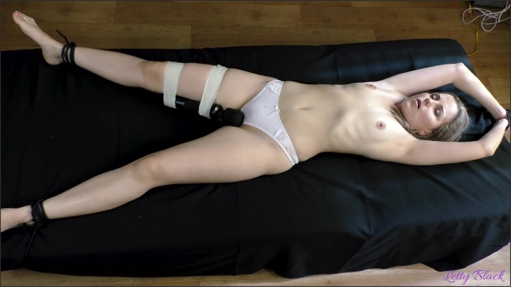 [Full HD] Stepbrother Revenge His Sister With Orgasm Control Family Therapy - Letty Black - - 00:09:35 | Hitachi Orgasm, Vibrator Torture - 167,5 MB